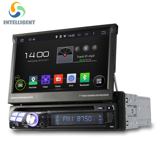 universal android 5 1 1 din car dvd player gps radio with. Black Bedroom Furniture Sets. Home Design Ideas