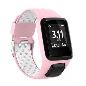 Image 4 - 交換のためのブレスレット腕時計ストラップtomtomためランナー3/冒険/ゴルファー2/ランナー2心臓/スパーク3音楽