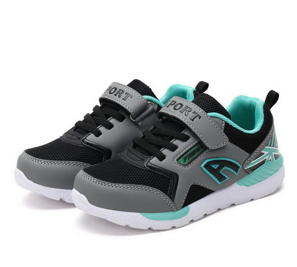 2018 New Fashion Children Casual Shoes Boys Ultralight Mesh Air Kid School Shoes Spring Black Sneakers For Boy Size 29-39