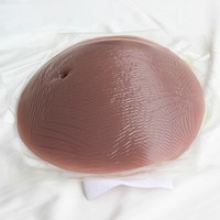Brown 7 8 Month 2000g Silicone Fake Pregnant Belly For Pregnance Test Wholesale And Drop Shipping