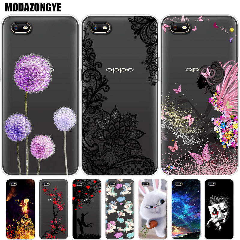 Case OPPO A1K Phone Case OPPO A1K Cover For OPPO A1K CPH1923 A 1K OPPOA1K Case Silicone Soft TPU Back Cover 6.1 inch