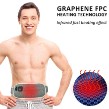 Far Infrared Heat Therapy Waist Massage Back Belt Herniated Scoliosis Back Pain Lower Support Brace Spine Lumbar Support for Men