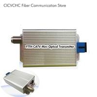 Ftth catv mini transmissor óptico