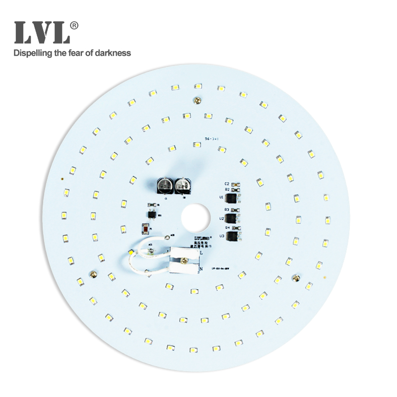New Smart Ceiling 25W AC220V SMD2835 Integrated Driver PCB Bulb Panel Driverless led down light Warehouse Hidh Bay Light