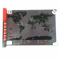 High Quality City Map The World Map Home Decoration For Travel And Decor For Living Room