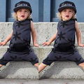 Cute Toddler Kids Baby Girl Boy Clothes Cotton Bodysuit Romper Jumpsuit Outfits