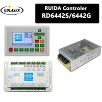 Ruida RDC6442G DSP Controller + Meanwell 24V 3.2A 75W Switching Power Supply for Co2 Laser Engraving Cutting Machine
