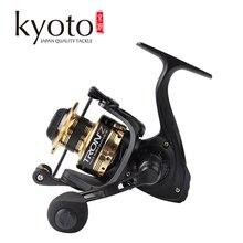 Bobine de pêche rotative KYOTO TRON'Z 2000 3000 4000 5000 6000 série rapport de vitesse en métal 5.0: 1/4. 7:1 9   1BB roue de pêche à roulement à billes