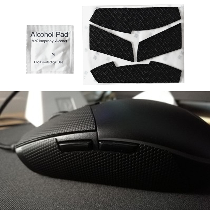 Mouse Feet Mouse Skates Side Stickers Sweat Resistant Pads For Logitech G102