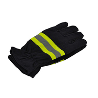 1 pair Fire Rescue Gloves Fire Gloves Fire Retardant Heat Insulation Gloves|  -