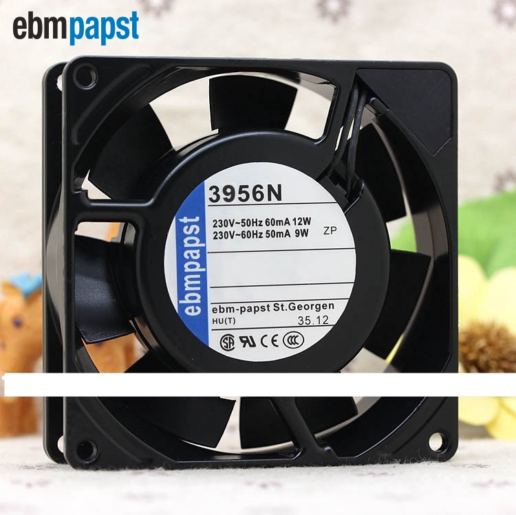 3956N 230V 12W 9025 9CM Full Metal Heat fan 90*90*25mm nmb new and original fba09a12m 9025 9cm 12v 0 2a chassis silent cooling fan 90 90 25mm