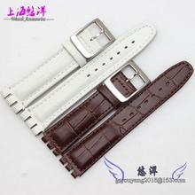 Preço no atacado New alta qualidade de couro macio genuíno faixa de relógio cinta para clássicos tamanho padrão de 17 mm