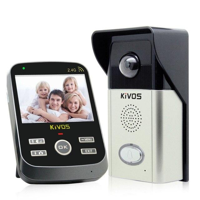 3.5 ''Беспроводной Домофон Video Door Phone Waterproof and Tamper Alarm Регулируемая Камера F1703A