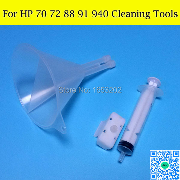 1 Set Cleaning Tools For HP 706 72 940 70 88 91 940 Print Head/Printhead/Nozzle For HP Officejet 5800 5300 7480 Printer