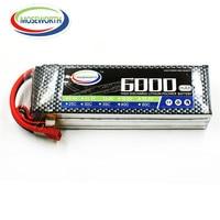 MOSEWORTH RC Lipo Battery 4S 14 8V 6000mAh 60C T XT60 Lipo Batteria For RC Modlel