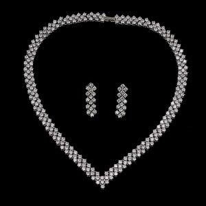 Image 2 - Emmaya boucles doreilles en cristal Zircon, strass, boucles doreilles en cristal, collier, bijoux, mariage, nouvelle collection, livraison gratuite pour femmes, nouvelle collection