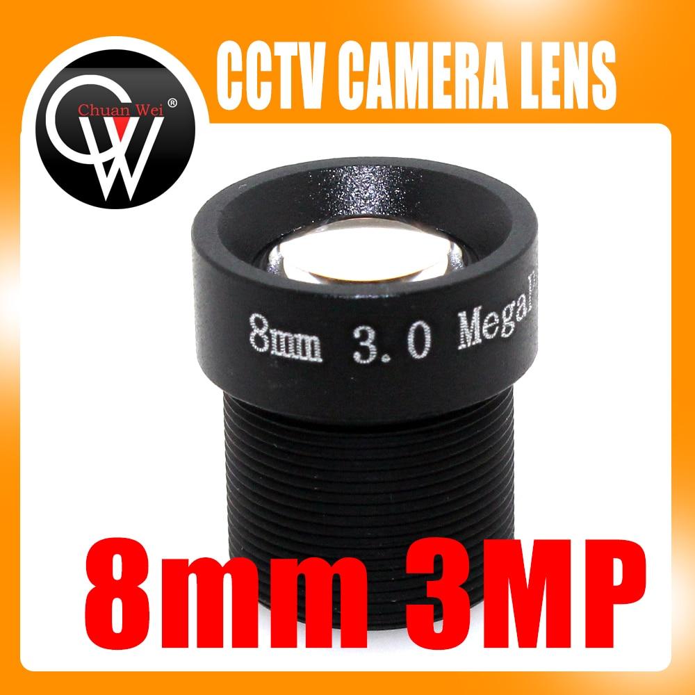 3MP 8mm Lens 1080P 1/2.7'' 8mm For HD Full HD CCTV Camera IP Camera M12*0.5 MTV Mount cctv lens 6mm 3mp 3 megapixel mtv ir cctv lens hd camera m12 mount for 720p 960p hd 1080p ip camera