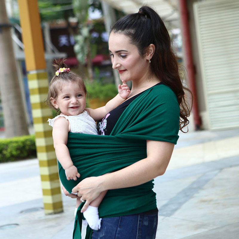 Porte-bébé multifonction écharpe nouveau-né doux infantile respirant Wrap Hipseat momie allaiter sacs à dos confortables transporteurs