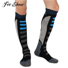 New Knee high Extra Warm Long Hose High Performance Thermal Socks for Trekking and Other Winter