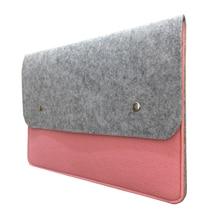 11 13 14 15.4 шерсть Фетр ноутбука чехол для Apple MacBook Lenovo/HP/Dell/Acer Ultra Slim Тетрадь чехол сумка для ноутбука 15.6″