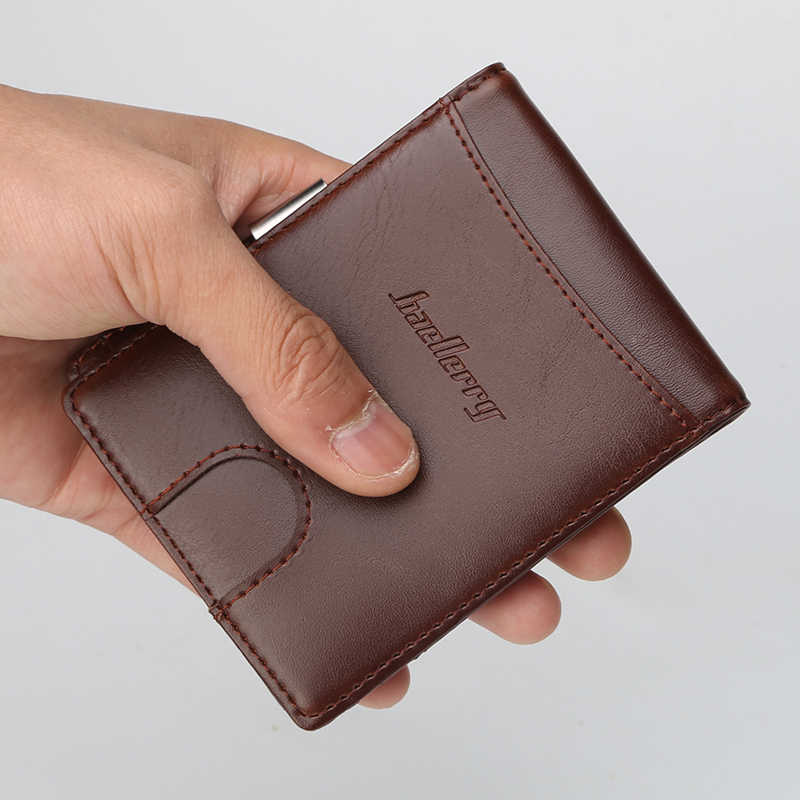f6d322455aea Fashion Design PU Leather Male Men Wallets Credit Card Holder Purse Short  Mini Wallet Coin Pocket