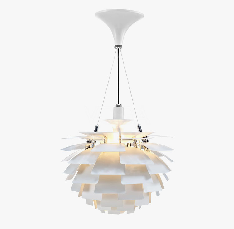 Modern Pendant Light Louis Poulsen PH Artichoke Suspension Light (Width 45 cm) Guaranteed 100%+Free Shipping denmark classic design lamp louis poulsen artichoke pendant light aerospace aluminum 38cm 48cm pine cones echinacea light