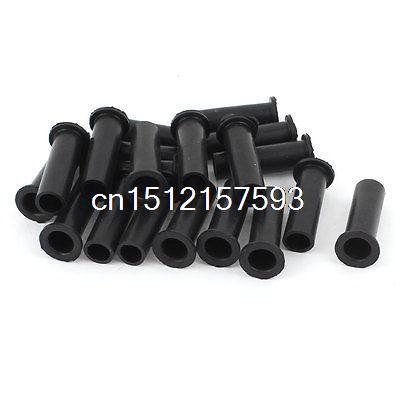 20pcs 49mm Length Strain Relief Cord Boot Protector Cable Sleeve for Power Tool