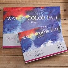 DORERART 300gsm สีน้ำ Pad 25% ผ้าฝ้ายสีน้ำ Sketchbooks ศิลปินภาพวาดน้ำสีอุปกรณ์ศิลปะ 20 แผ่น