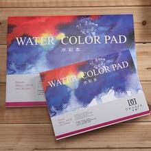 DORERART 300gsm akwarela Pad 25% bawełna akwarela szkicownik dla artysty malarstwo kolor wody dostaw sztuki 20 arkuszy
