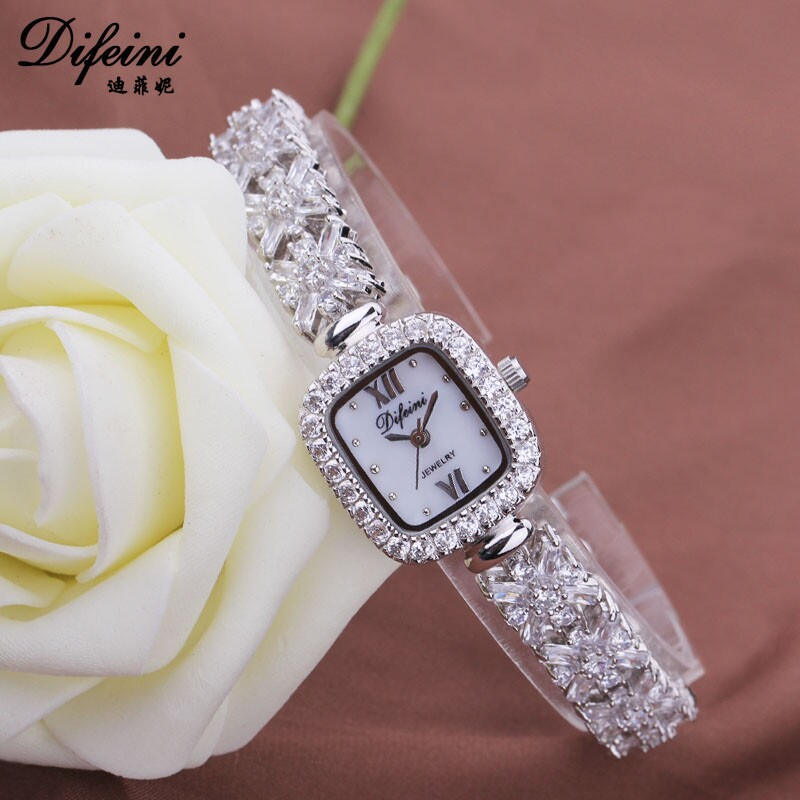 Hot sale New Arrival Women Watches Luxury Lady Watch Woman Rhinestone Wristwatches Dress Watches Gift Watch Women Relogios 2017 new arrival grace bs brand full diamond luxury bracelet watch hot sale women 14k austrian crystals watch lady rhinestone bangle