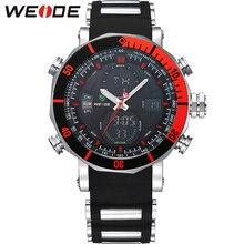 WEIDE Reloj de la Marca Top Hombres Deportes Serie de Lujo Logo multifuncional de Cuarzo Analógico Digital Cronómetro Alarma Reloj Grande Para hombre(China (Mainland))