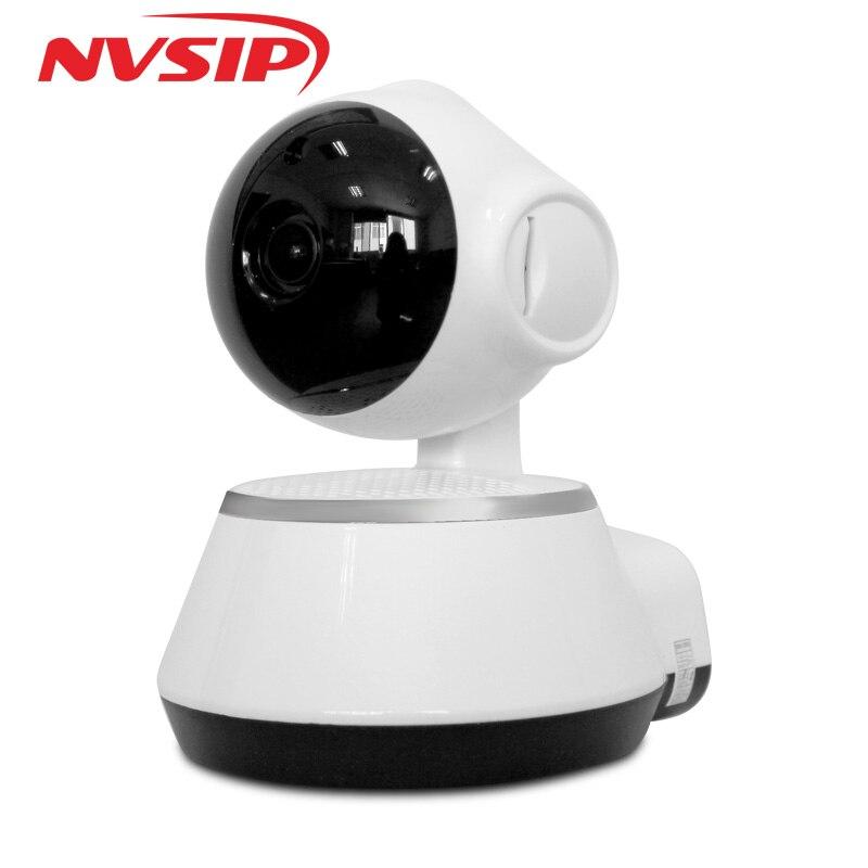 V380 HD 720 p Cámara cámara IP Wifi Mini cámara inalámbrica P2P de vigilancia de seguridad cámara de visión nocturna IR Robot bebé Monitor soporte 64G