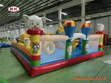 Giant high quality competitive outdoor inflatable slide for kid adult