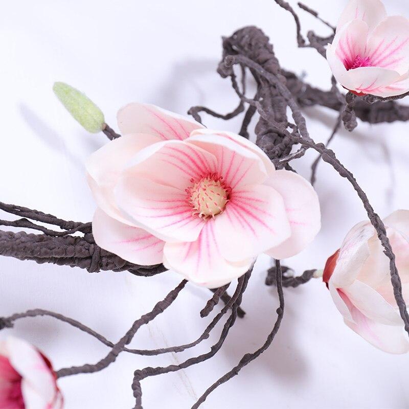 Image 5 - ماغنوليا الزفاف قوس زينة الزهور الجدار اللبلاب الكرمة إكليل الزهور الاصطناعية جارلاند معلقة فروع جدار الزهور أكاليلزهور مجففة واصطناعيةالمنزل والحديقة -
