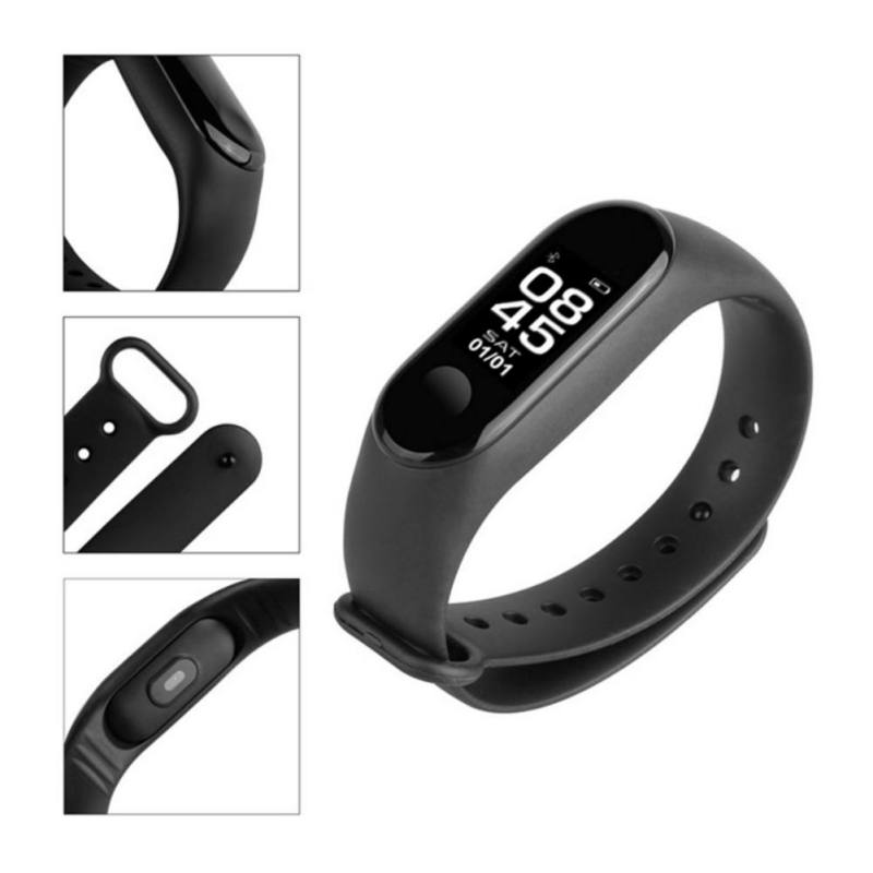 Image 5 - M3 Smart Bracelet Bluetooth Bracelet Supports Multi Language for Android /iOS with Heart Rate Sleep Monitoring Message Reminder-in Smart Wristbands from Consumer Electronics