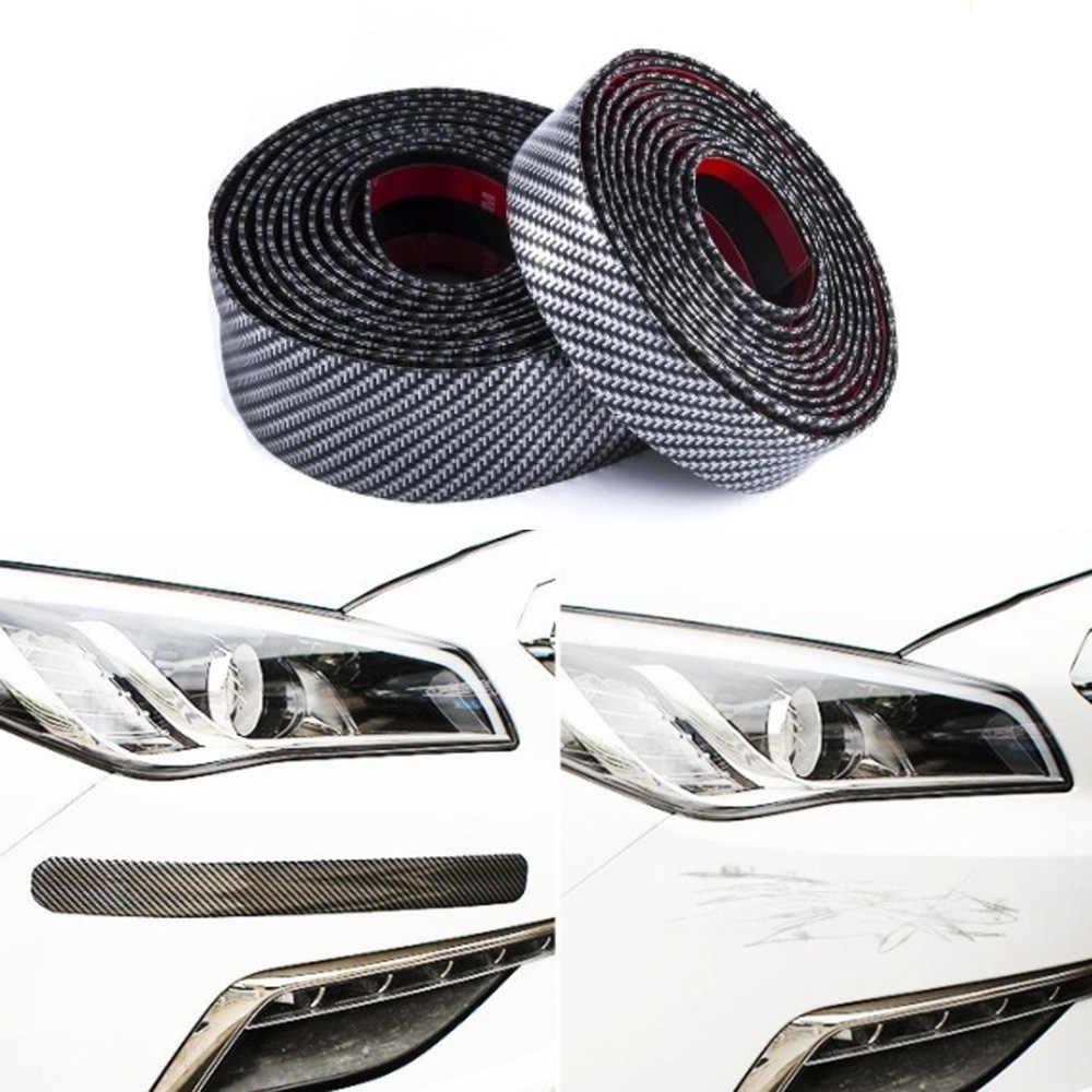NEUE Auto Aufkleber 5D Carbon Faser Gummi Styling Tür Sill Protector Waren Abdeckung Auto Aufkleber Auto Zubehör für BMW E46
