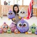 1Pcs 18cm Creative 3D Cartoon Kwaii Lovely Animal Birds Stuffed Plush Game Dolls For Kids Gift Bird Toys C66