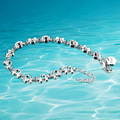 Free shipping, 925 silver female bracelet, delicate small cute animals bracelet, fashion gift