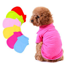 2017 Newest Arrival Pet Doggy Apparel Dog Special POLO Puppy Clothes Honden T Shirt For Dogs