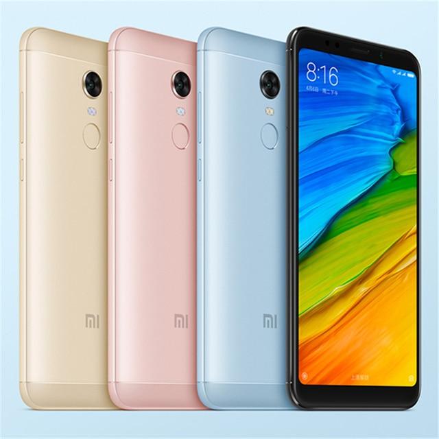 Free Case! Global Version Xiaomi Redmi 5 Plus 4GB 64GB 5.99