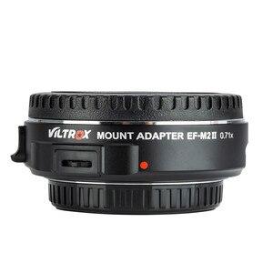 Image 4 - Viltrox EF M2 II Focal Reducer Booster Adapter Auto fokus 0,71 x für Canon EF mount objektiv M43 kamera GH5 GH4 GF7GK GX7 E M5 II
