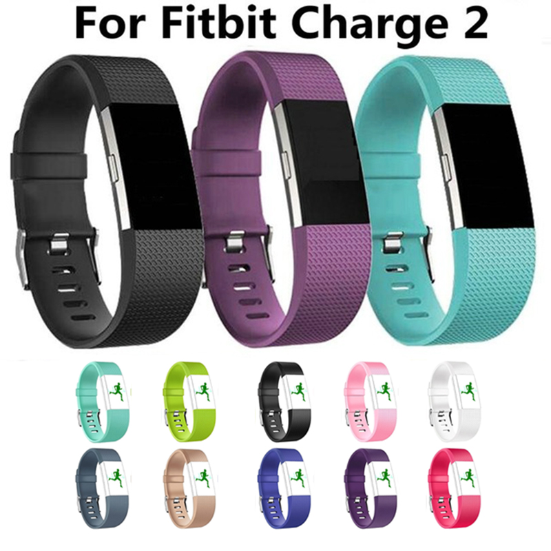 Durable Smart Wrist Band Replacement Parts For Fitbit Charge 2 Strap For Fit Bit Charge2 Flex Wristband Pattern Leather Bracelet
