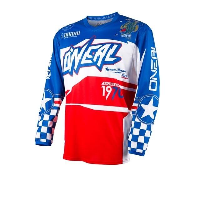 90c6cfd6b 2018 MX MTB new motocross jersey mx downhill Long Sleeve Moto Jersey ropa  mtb summer mountain bike shirt