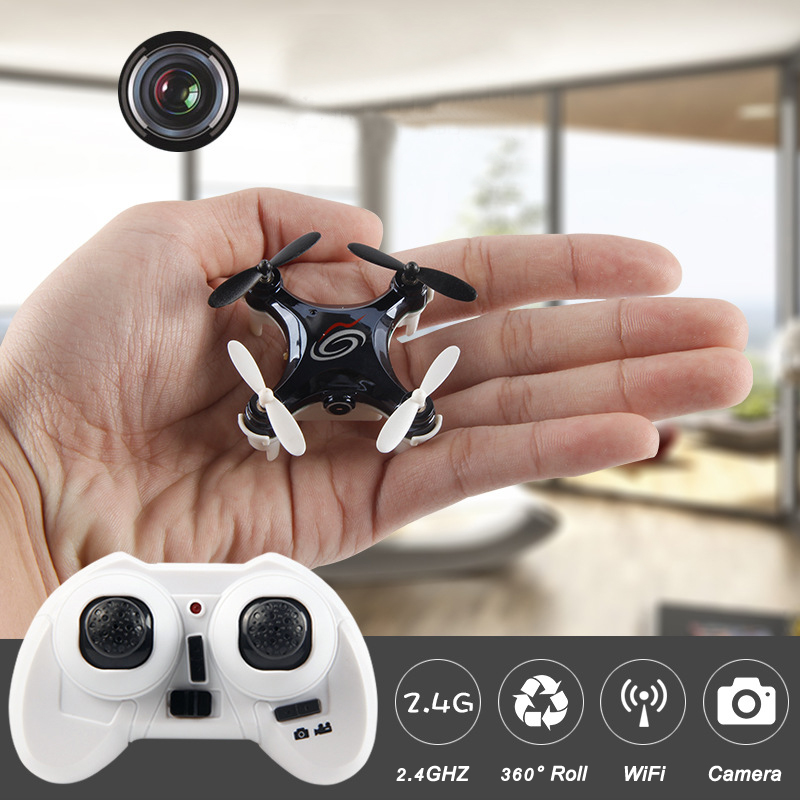2016 New WIFI FPV Mini Drone with Camera 2.4G 4CH 6-axis RC Quadcopter Nano Drone RC WIFI FPV Drone Phone Control Toy
