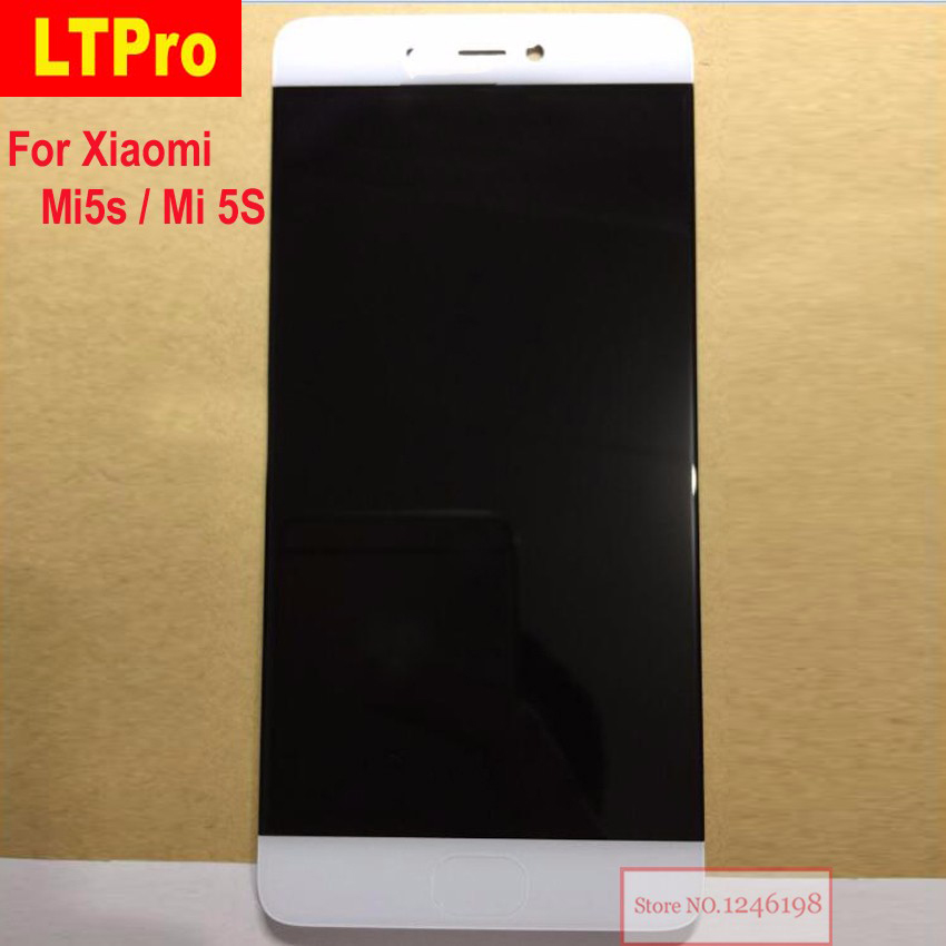 Best Quality New LCD Touch Screen Digitizer Assembly For Xiaomi Mi5s M5S Mi 5S Mobile Phone