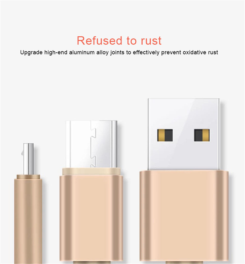 NOHON Nylon Charging Sync Cable Micro USB For Samsung Galaxy S7 S6 For Huawei For Xiaomi Redmi Android Phone Fast Charger Cord (8)