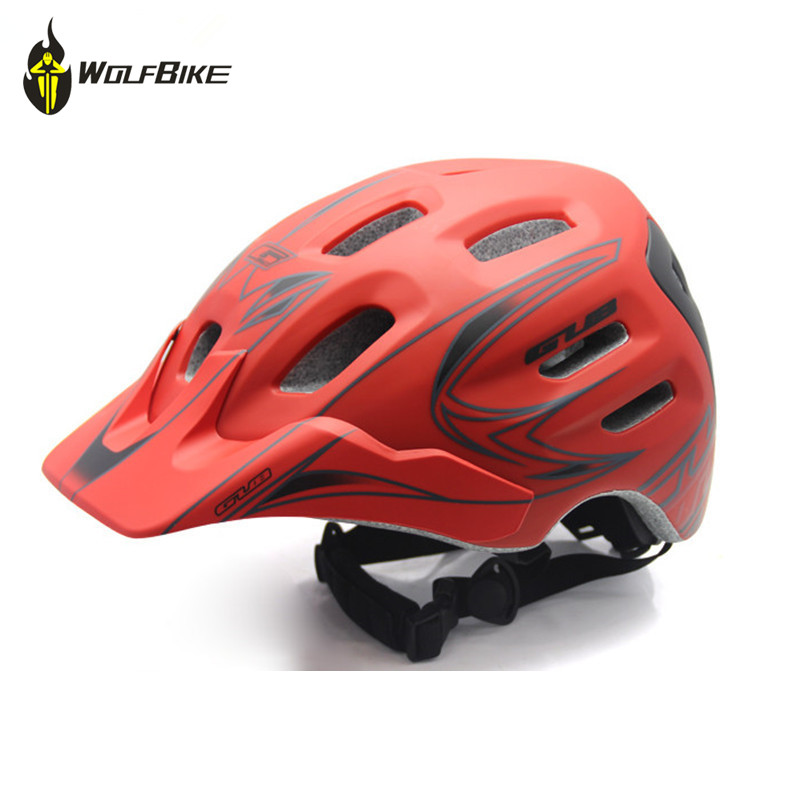 GUB Bicycle Helmet 18 Holes Integrally Molded Safety Cap Mountain Bike Riding Cascos Ciclismo Capacete Cycling Helmet mountain bike four perlin disc hubs 32 holes high quality lightweight flexible rotation bicycle hubs bzh002