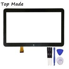 10.1 Pulgadas de Pantalla Táctil para DEXP Ursus TS210 Tablet Touch Panel digitalizador Del Sensor de Cristal de Reemplazo