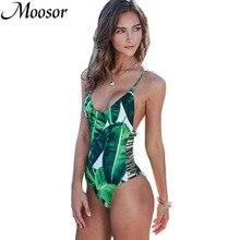 2017 Women Biquini Sexy One Pieces Bathing Suit Set Colorful Print Padded Plus Size Swimwear Bikini Brazilian BK450
