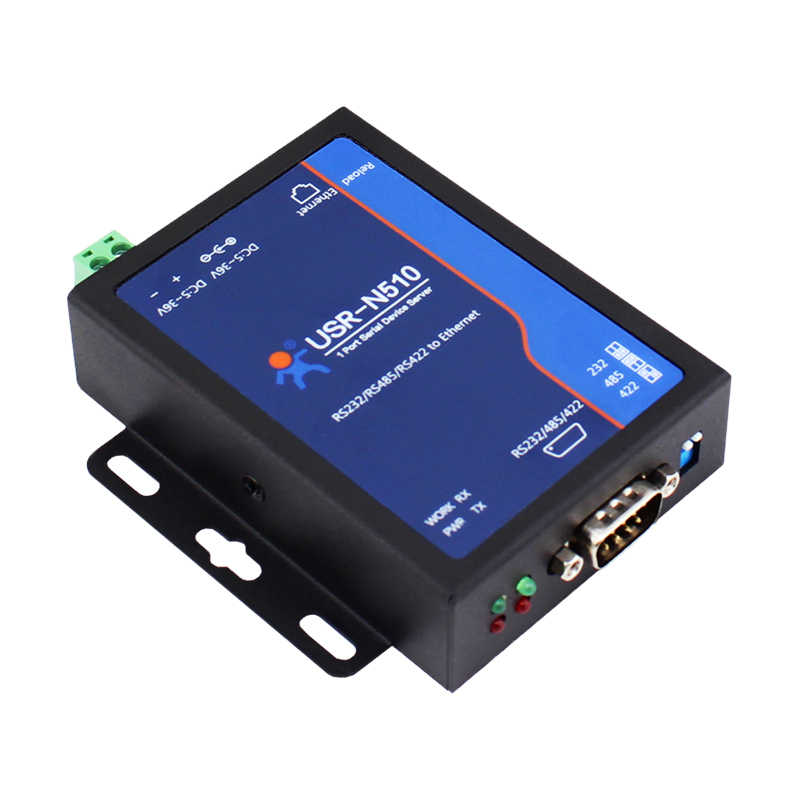 Промышленный серийный Ethernet переходной кабель, последовательный серверное устройство поддерживает Watchdog Modbus RTU к Modbus TCP